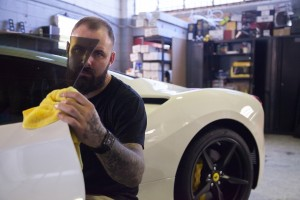Ferrari 488GTB-36 Brisbane Window Tinting